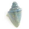 Lamp Bead Nobilis Shell 1Pc 38mm Seagreen Sparkle